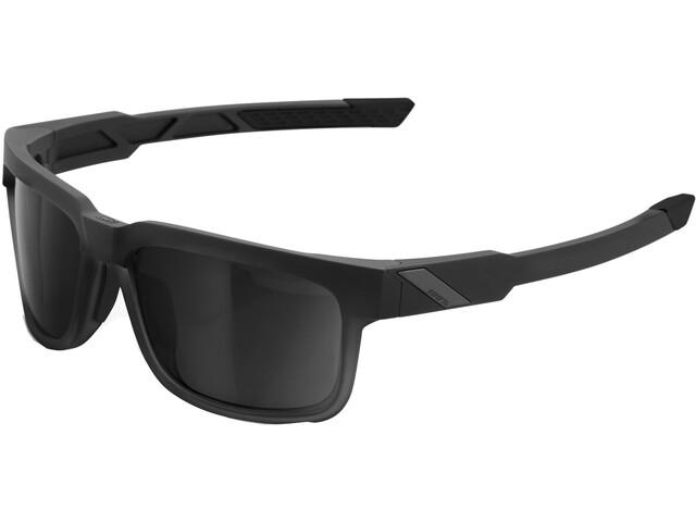 100% Type S Smoke Glasses soft tact black
